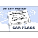 UK Sky Watch Car Flag