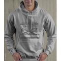 Unisex - Moondust Grey Hoody